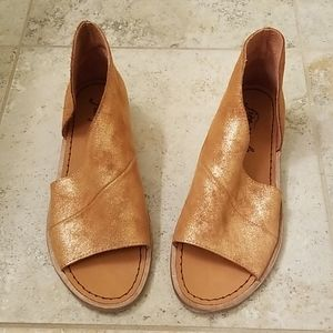 New Free People Mont Blanc Rose Gold Shoe 36 6